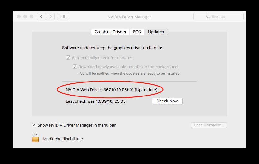 10.12 macOS Sierra Hackintosh Asus P8H77V-LE Nvidia GTX 960 4GB